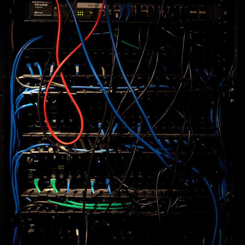 התקנת רשת מחשבים